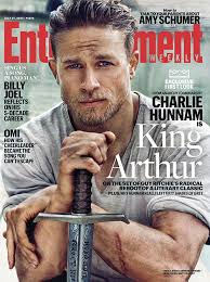 first look here s charlie hunnam as knights of the round table king arthur