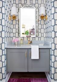 Image Removable Wallpaper Wallpaper Guest Bathroom The Perennial Style 25 Chic Ways To Use Wallpaper In Guest Bathroom