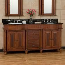 Double Vanity Cabinets Bathroom 72 George Washington Brown Cherry Double Vanity Bathroom