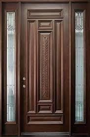 single front door designs wooden single front door designs for houses outside wood doors in single