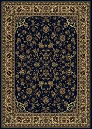 details about 10x13 radici blue persian persian border 953 area rug approx 9 10 x 12 10