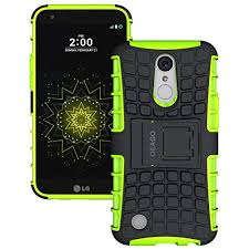LG K20 Plus Case, V Harmony Grace LTE OEAGO [Shockproof] Tough Rugged Dual Layer Protective Case with Kickstand for