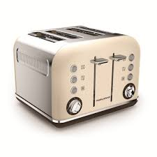 Retro Toasters special edition accents sand 4 slice toaster morphy richards 2714 by uwakikaiketsu.us