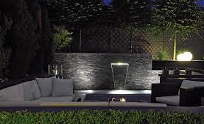 Wasserfall Garten Modern Gepolsterte On Interieur Dekor Plus
