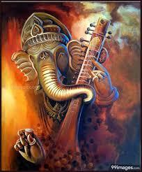 Ganesha painting, Ganesha ...