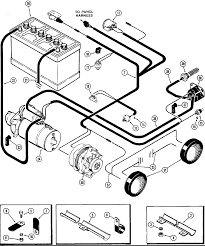 Electrical wiring lawn tractor starter generator diagram lea ez