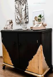 gold painted furnitureHow To Decorate A Dresser With Black And Gold Paint  Hometalk