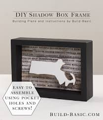 build a diy shadow box frame