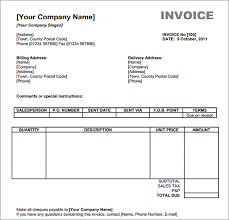 Invoice Free Downloads Download Free Invoice Under Fontanacountryinn Com