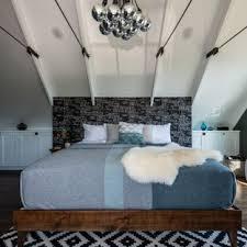 Stylish farmhouse master bedroom decor ideas Modern Farmhouse Example Of Midsized Farmhouse Master Dark Wood Floor Bedroom Design In Seattle With Farmfood 75 Most Popular Farmhouse Master Bedroom Design Ideas For 2019