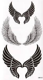 Karnevalové Nalepovací Tetování Andělská Křídla