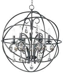 unique bennington candle style chandelier 6 light
