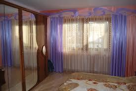 Schlafzimmer Vorhang Im Klassischen Stil Mit Lila Schals
