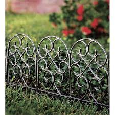 72 best garden edging images on metal garden border fence