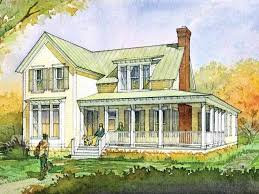 southern living house plans farmhouse new eplans farmhouse house plan glenview cottage from the