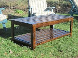 Ana White  Build An Outdoor Coffee Table Hamptons Outdoor Table Handmade Outdoor Wood Furniture