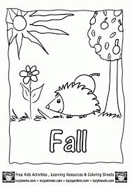 Small Picture Free Fall Printable Coloring Pages regarding Your property Cool