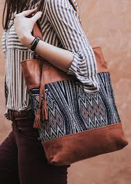 boho handmade leather bag arcadia collection