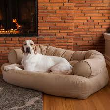 Luxury Couch Snoozer Luxury Dog Sofa Dog Couch Microsuede Fabric