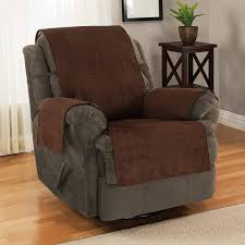leather recliner slipcover recliner chair covers diamond