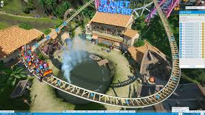 Amusement Park Design Game Planet Coaster Review This Is The Theme Park Game Youve