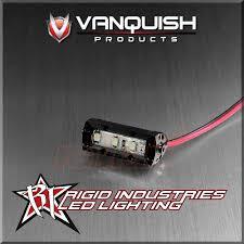 vanquish rigid industries 1 inch led aluminum light bar black vanquish rigid industries 1 inch led aluminum light bar black vps06761