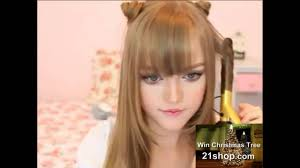 Pretty Girl Hair Style pretty girl cute hairstyle orecchiette hairstyle cat ears lovely 3385 by wearticles.com