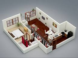 "One "" "" Bedroom Apartment House Plans   Architecture  amp  Design  The Capitol   bedroom apartment"