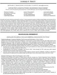 Quality Engineer Resume Sample Simple Resume Format