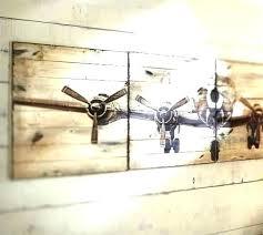 propeller wall art aircraft