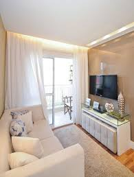 decor ideas for small apartments. Home Decor, Small Living Room Decorating Ideas White Sofa Cushions Glass Table Carpet Window Decor For Apartments A