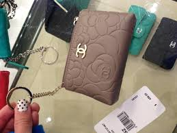 chanel key pouch. my only problem is that i want to be able have this attached keys all the time . i\u0027m concerned about durability of lambskin as a keychain. chanel key pouch