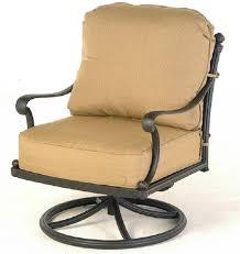 outdoor swivel rocker recliner stunning st augustine by hanamint luxury cast aluminum patio furniture interior design