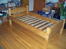 Twin Wood Bed Frame with Drawers Lovable Twin Xl Bed Frame Wood ...