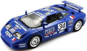 Bburago / 1:24 bb машина bugatti eb 110. Bugatti Eb 110 Blue 34 La Mini Mineria 1 18 Scale Diecast Car Model By Bburago 11039