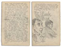 lot detail robert crumb illustrated handwritten essay on the robert crumb illustrated handwritten essay on the african slave trade