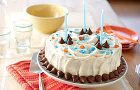 Hersheys Kisses Birthday Cake
