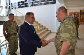 CHP'li başkandan Korgeneral Zekai Aksakallı'ya ziyaret