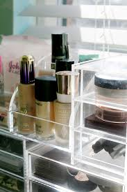 my makeup collection. the products i use for organising my makeup collection a