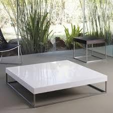 Luxo By Modloft Duke Square Coffee Table   Modern   Coffee Tables   YLiving