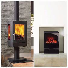 woodburner vs electric stove