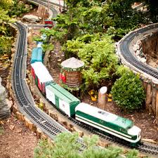 garden railways. At The Holidays, People Like To Do Things Together. A Day Garden Railroad Is Perfect Because Everyone Finds Something They Can Enjoy.\ Railways