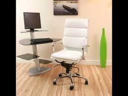 office chair white leather. Office Chair White Leather E