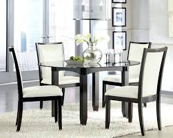small glass top dining table dining room inspiring round glass dining table set glass top dining intended for glass kitchen table and chairs renovation