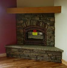 stone corner fireplace 102 best house images on
