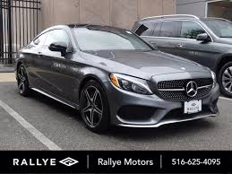 On paper and in person, it's a virtual dead heat between similarly optioned cars. Certified Pre Owned 2017 Mercedes Benz C Class Amg C 43 Coupe Coupe In Roslyn U35075 Rallye Motors
