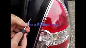 2013 Hyundai Accent Brake Light Changing The Back Lights Of My Hyundai Accent 2007