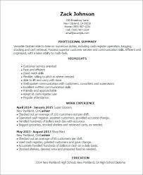 Cashier Resume Skills Awesome 399 List Of Cashier Skills For Resume Cashier Resume Templates Retail