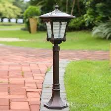 garden lamps. Wonderful Garden Online Cheap Solar Power Led Garden Street Lights Super Bright Outdoor  Waterproof Home Post Lamps Villa Deck By  Inside D