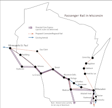 the amtrak hiawatha service from milwaukee to chicago is perfect for the implementation of high sd rail but no concrete plans have been made
